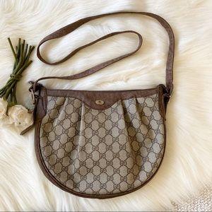 Gucci GG Monogram Crossbody Saddle Bag